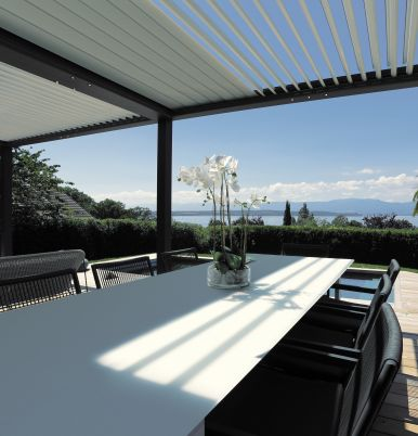 La nouvelle pergola BIO One, Alliance du design et de l'innovation
